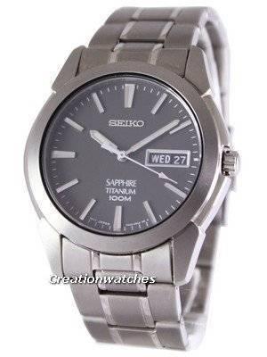 Refurbished Seiko Titanium Sapphire SGG731P1 SGG731 SGG731P Men's Watch
