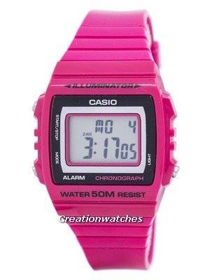 Casio Illuminator Chronograph Alarm Digital W-215H-4AV W215H-4AV Men's Watch