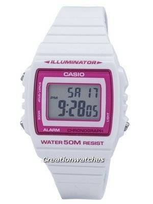 Casio Illuminator Chronograph Alarm Digital W-215H-7A2VDF W215H-7A2VDF Unisex Watch