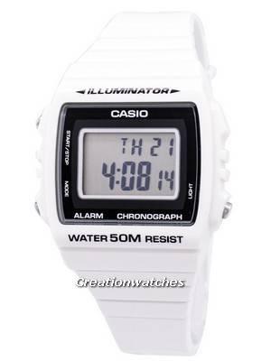 Casio Digital Alarm Chronograph W-215H-7AVDF W-215H-7AV Unisex Watch