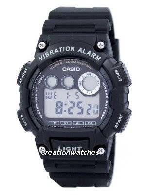 Casio Digital Illuminator W-735H-1AVDF W-735H-1AV Men's Watch