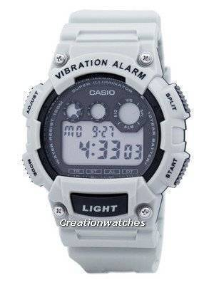 Casio Digital Vibration Illuminator W-735H-8A2VDF W735H-8A2VDF Men's Watch