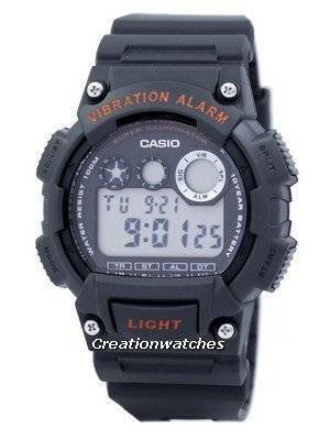 Casio Digital Vibration Alarm Illuminator W-735H-8AVDF W-735H-8AV Men's Watch