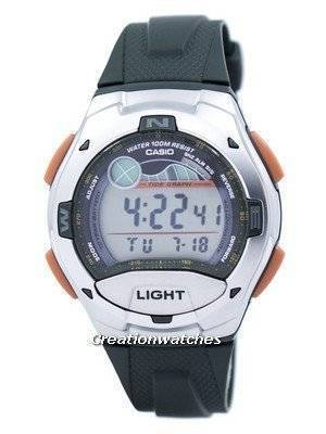 Casio Digital Sports Tide Graph Illuminator W-753-3AVDF W-753-3AV Men's Watch