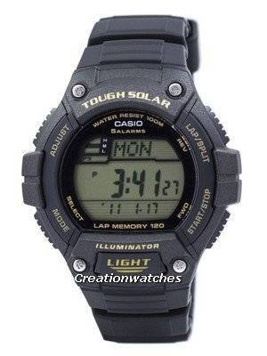 Casio Youth Digital Tough Solar 5 Alarms W-S220-9AVDF Men's Watch
