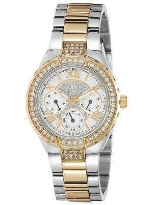 Guess Two Tone Stainless Steel Multifunction Quartz W0111L5 Women's Watch