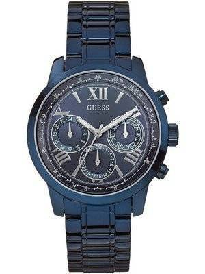Guess Chronograph Multifunction Stainless Steel Quartz W0330L6 Women's Watch