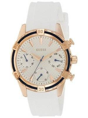 Guess Catalina Multifunction Silicon Strap Quartz W0562L1 Women's Watch