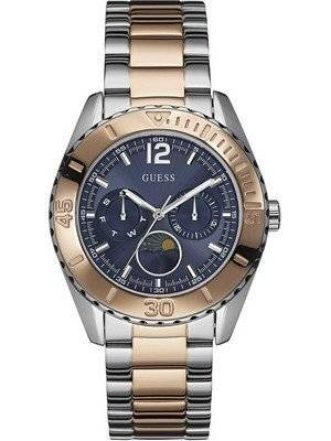Guess Moonstruck Chronograph Two Tone Multifunction Quartz W0565L3 Women's Watch