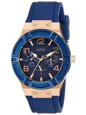 Guess Jet Setter Silicon Strap Quartz W0571L1 Women's Watch