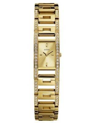 Guess Platform G Gold Dial Series W12576L1 Women's Watch