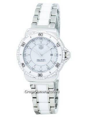 "Tag Heuer ""Formula One"" Diamond Accent Quartz WAH1313.BA0868 Women's Watch"