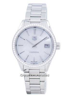 TAG Heuer Carrera Quartz Diamond Accent WAR1315.BA0778 Women's Watch