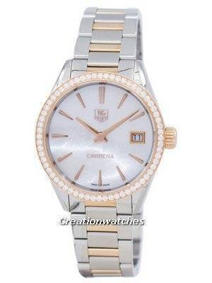 TAG Heuer Carrera Quartz Diamond Accent WAR1353.BD0779 Women's Watch