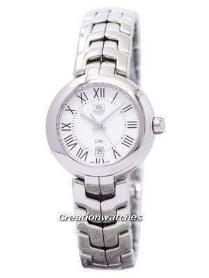 Tag Heuer Link Bracelet Silver Guilloche Dial WAT1416.BA0954 Women's Watch