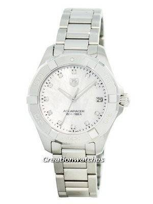 Tag Heuer Aquaracer Diamond Markers Quartz 300M WAY1313.BA0915 Women's Watch
