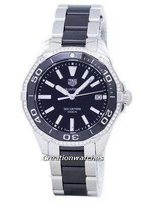 TAG Heuer Aquaracer Quartz 300M Diamond Accent WAY131G.BA0913 Women's Watch