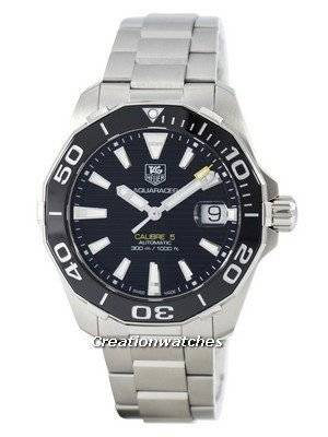 Tag Heuer Aquaracer Calibre 5 Automatic Swiss Made 300M WAY211A.BA0928 Men's Watch