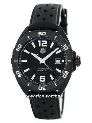 Tag Heuer Full Black Edition Formula 1 Calibre 5 Automatic 200M WAZ2115.FT8023 Men's Watch