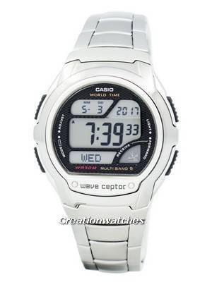 Casio Wave Ceptor Atomic Multiband 5 Digital WV-58DE-1AV Men's Watch