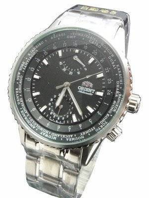 Orient World Time WZ0041FA World Stage Collection Mens Watch