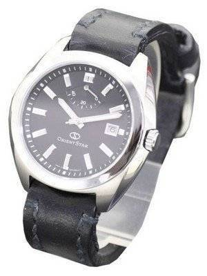 Orient Star Black w/Somes Bridle Leather WZ0201EL