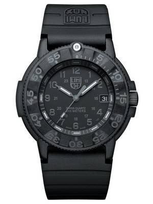Luminox Sea Original Navy Seal 3000 Series Swiss Quartz 200M XS.3001.BO Men's Watch
