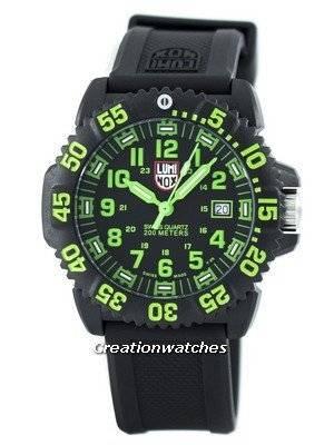 Luminox Sea Navy Seal Colormark 3050 Series Swiss Quartz 200M XS.3067 Men's Watch