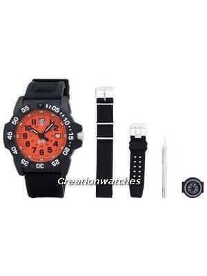 Luminox Scott Cassell UVP Set 3500 Series Quartz XS.3509.SC.SET Men's Watch