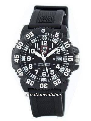 Luminox Sea Navy Seal Colormark 3050 Series Swiss Quartz 200M XS.3051 Men's Watch