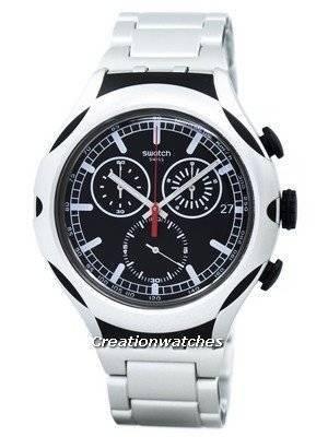 Swatch Irony Xlite Black Energy Chorongraph Quartz YYS4000AG Men's Watch