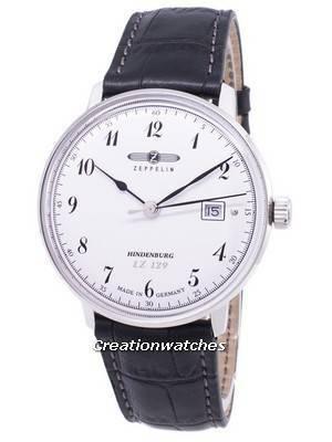 Zeppelin Series LZ 129 Hindenburg Germany Made 7046-1 Men's Watch