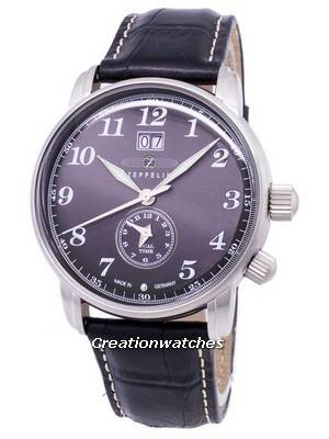 Zeppelin Series LZ127 Graf Germany Made 7644-2 76442 Men's Watch