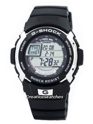 Casio G-Shock World Time G-7700-1DR Men's Watch