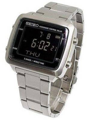 Seiko Power Design Project Solar Radio Wave Control SBPG001 Watch