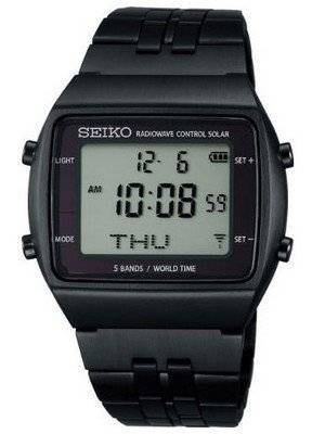 Seiko Power Design Project Solar Radio Wave Control SBPG003 Watch