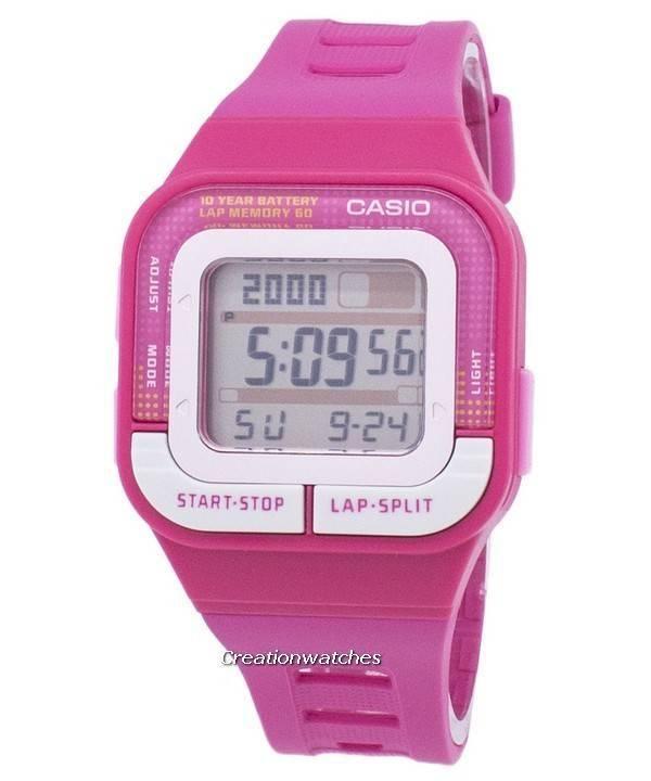 14bb69c2a9e 카시오 디지털 스포츠 다기능 SDB-100-4ADF 여자의 시계 ko