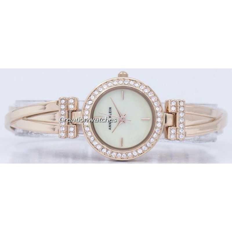 Anne klein quartz swarovski crystal 2238rgst women 39 s watch for Anne klein swarovski crystals