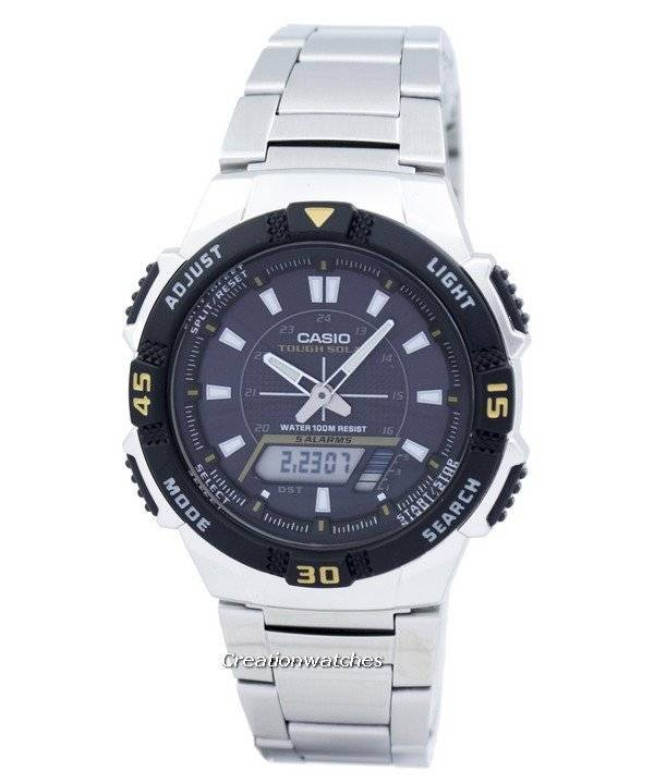 65a123a17d9 Relógio analógico Casio Digital resistente Solar AQ-S800WD-1EVDF AQ-S800WD  - 1EV