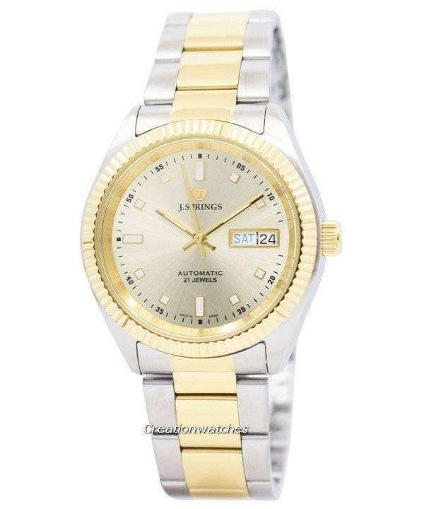 17239cbe12b J.Springs por Seiko automáticas 21 jóias Japão fez relógio BEB547 masculino