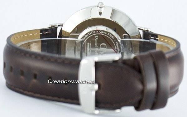 ef5775c16eb Relógio Daniel Wellington Bristol clássico quartzo DW00100023(0209DW)  masculino