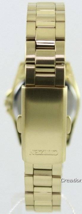 7cf77b2054f Relógio Citizen Quartz Gold Tone EQ0562-54A feminino pt