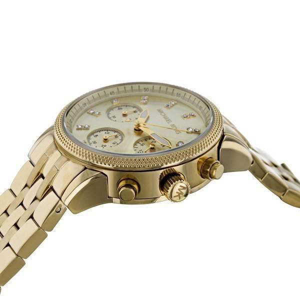 Relógio Michael Kors Ritz cronógrafo MK5676 feminino pt d7c09ef589
