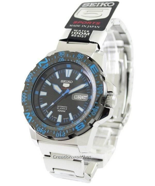 15e8ec8be83 Relógio Seiko 5 Sports automático SRP543J1 SRP543J masculino pt