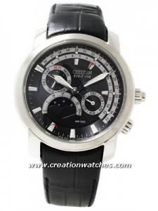 Citizen Eco Drive Moon Phase AP1001-19E AP1001-19 Men's Watch