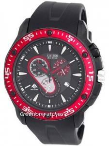 Citizen Eco-Drive Chronograph AT0709-08E Mens Watch