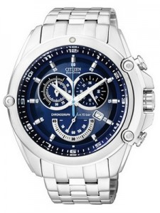 Citizen Eco Drive Tachymeter Chronograph AT0788-52L AT0788-52 Men's Watch