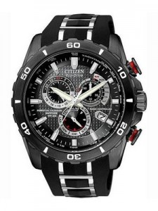 Citizen Eco-Drive Perpetual Chronograph Limited Edition AT4027-06E Mens Watch