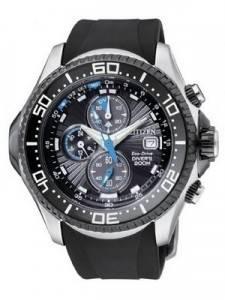 Citizen Promaster Eco Drive Aqualand Chronograph BJ2110-01E BJ2110-01 BJ2110 Diver's Watch