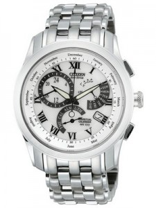 Citizen Eco-Drive Alarm Chronograph Perpetual Calendar BL8000-54A BL8000 Men's Watch